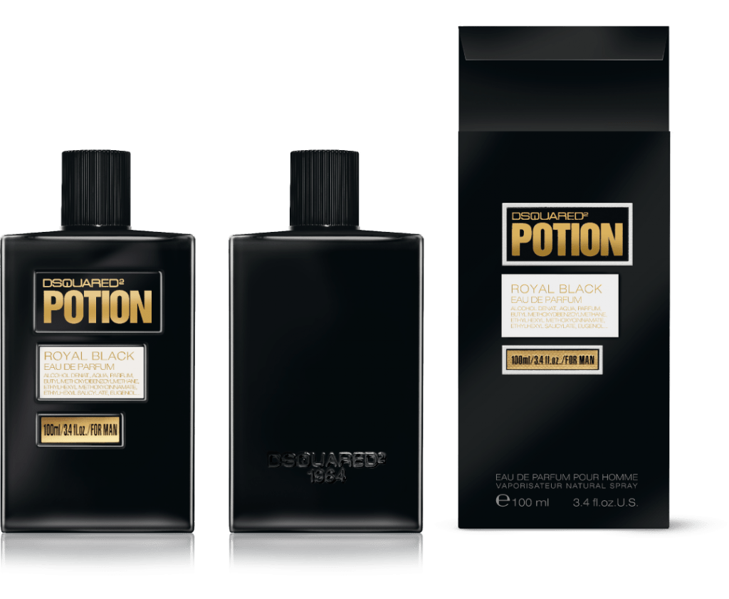 Potion For Men Royal Black