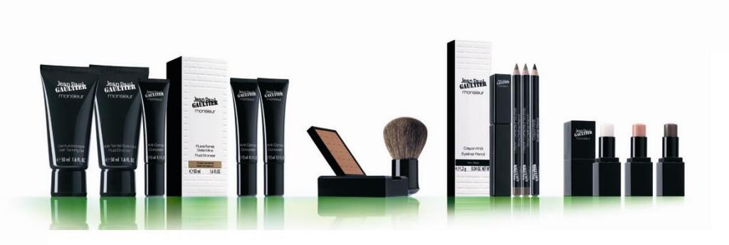 make-up voor mannen lijn van Jean Paul