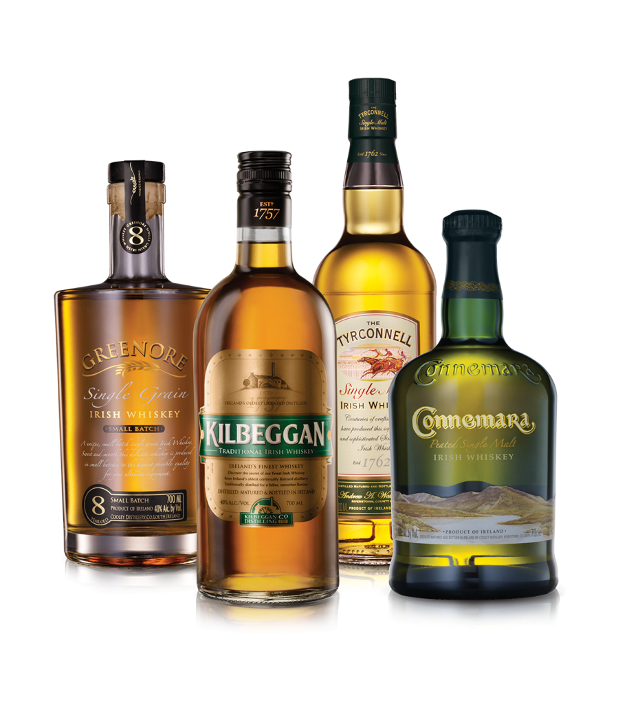 Kilbeggan Distillery Whiskey´s