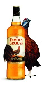 Hugging Grouse - Saltire - no text