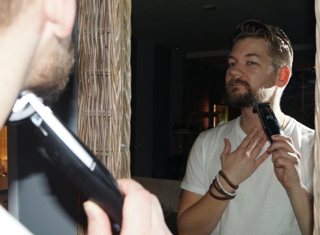 onderkant baard scheren