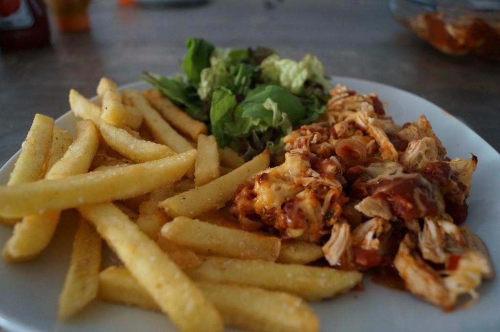 Hete Kip Met Friet Super Lekker Recept By B4men Nl