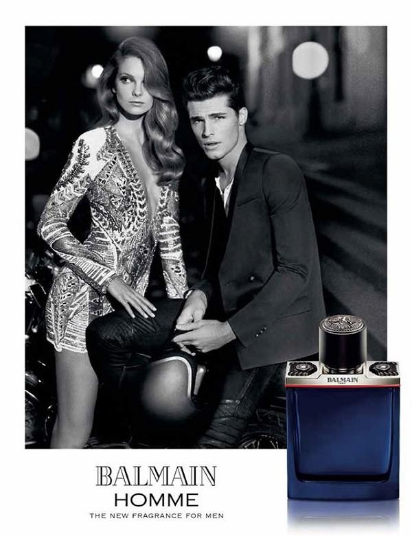 Balmain-Homme-Fragrance-Ad-Eniko-Mihalik