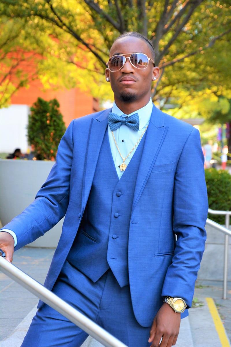 blazer dragen felblauw mannen