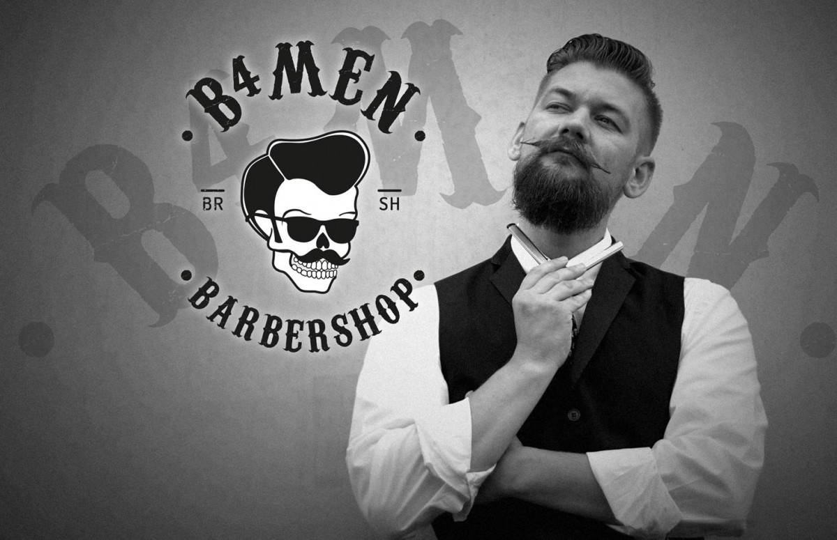 Jan Willem Huffmeijer Barbier in de B4men Barbershop Hoofddorp