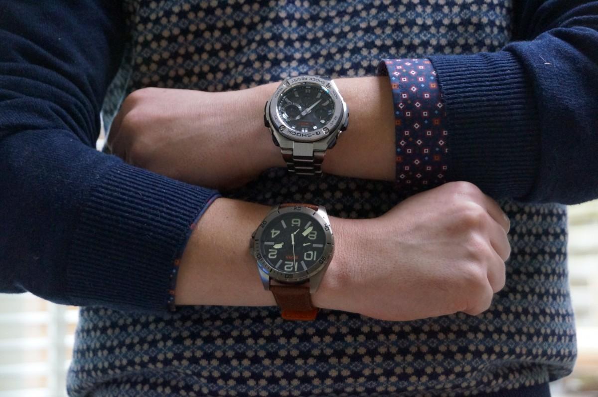 Horloge Om horloge etiquette, hoe draag je een horloge - b4men
