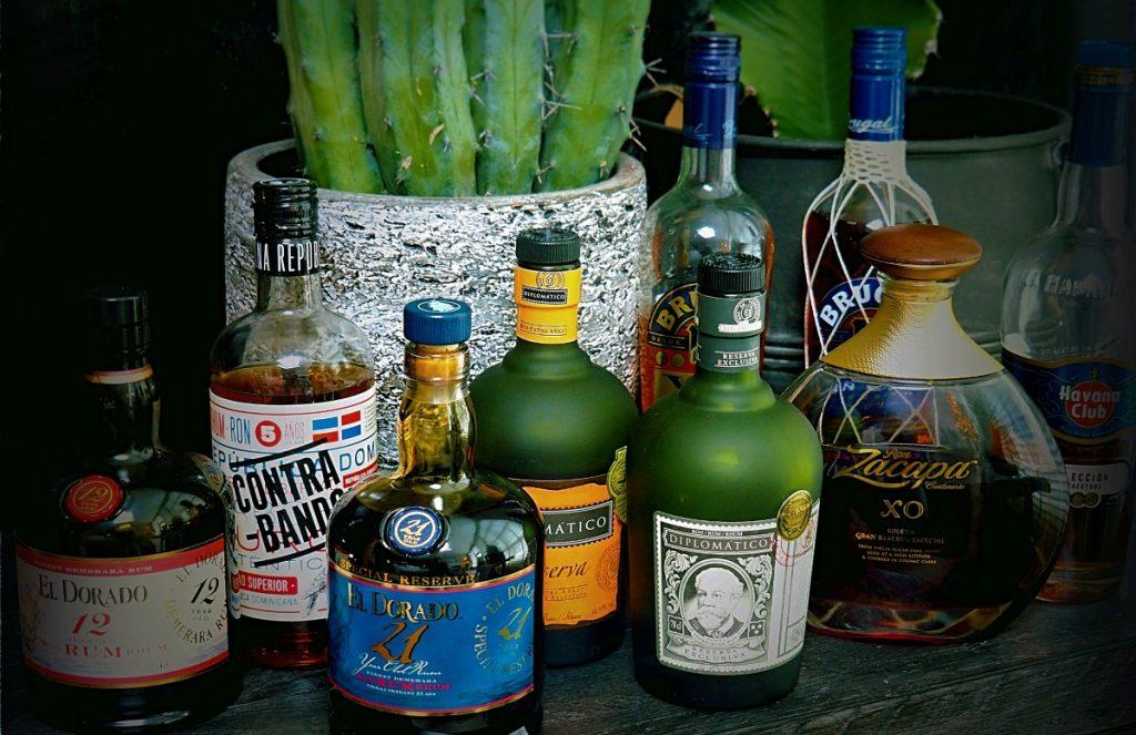 diverse soorten rum