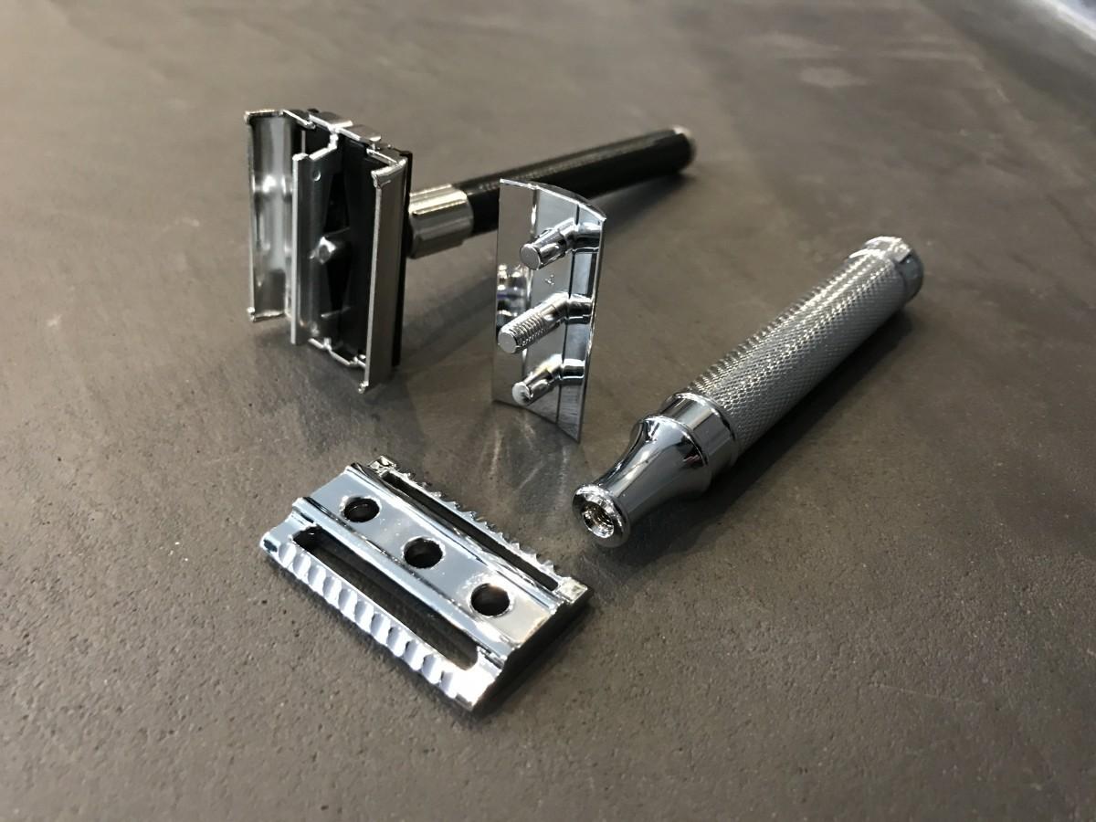 safety razor bij ingegroeide baardhaar