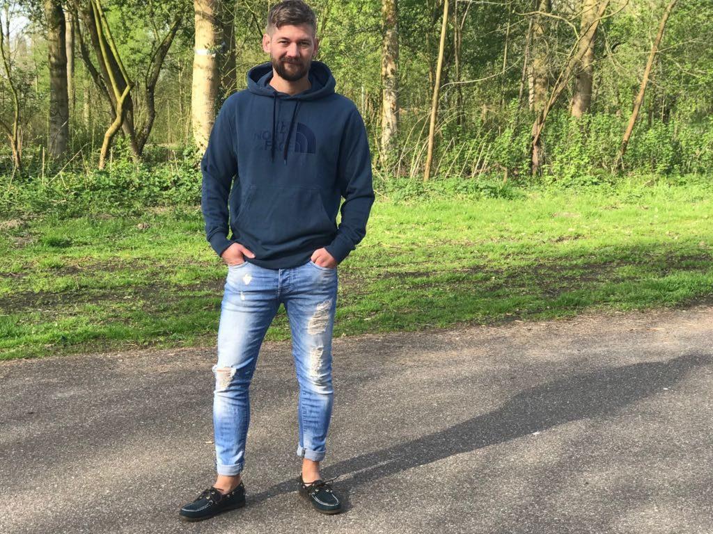 skinny jeans mannen