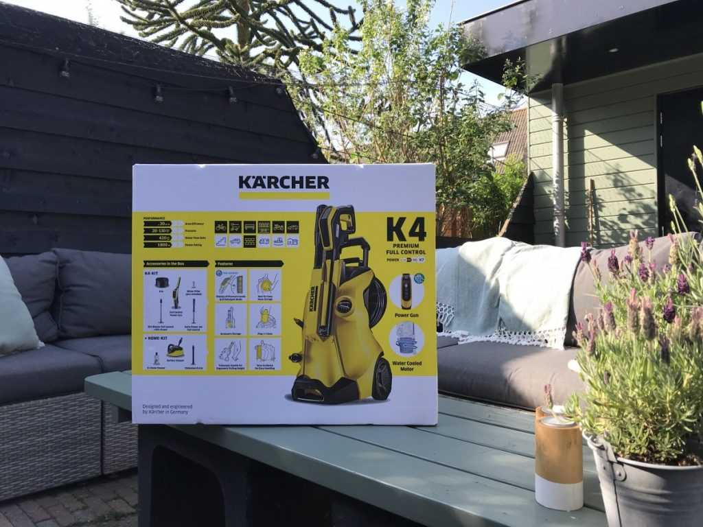 Karcher K4 Premium Full Control Home in de doos