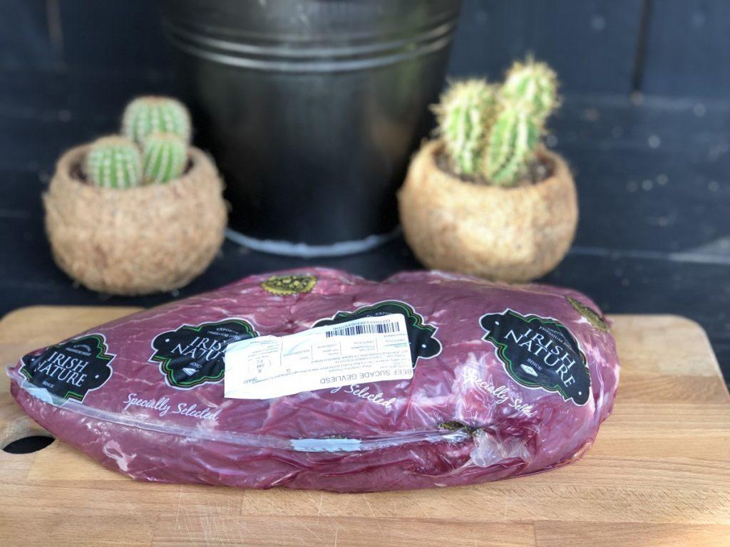 Verpakking van de Sukade van Iers Rundvlees