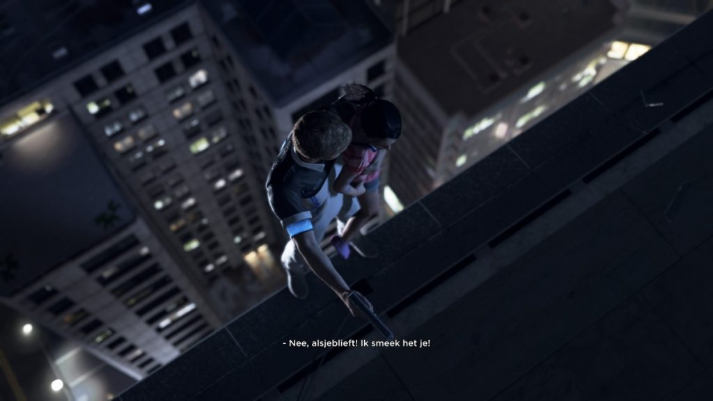 Detroit Become Human rooftop