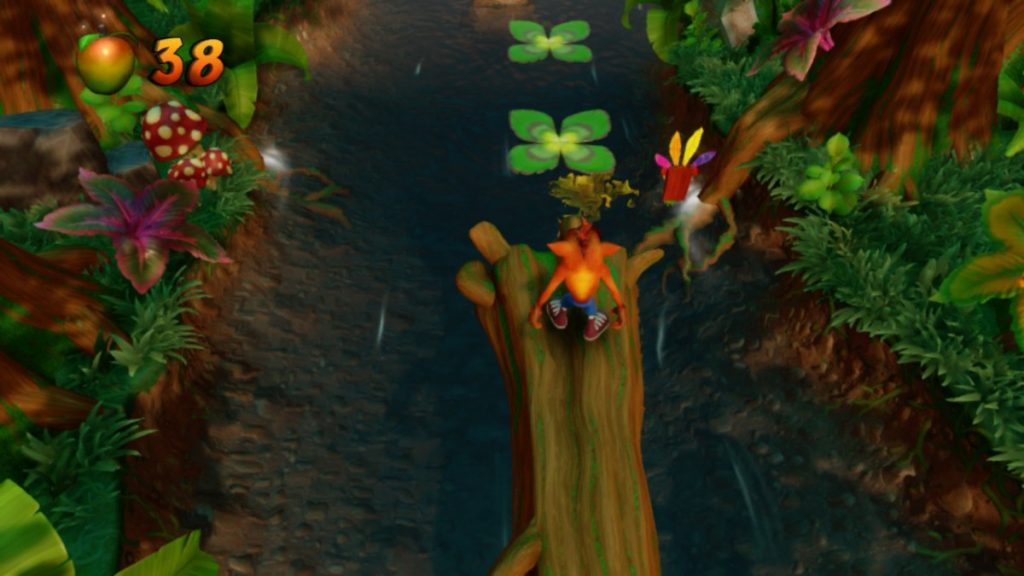 Crash Bandicoot in game