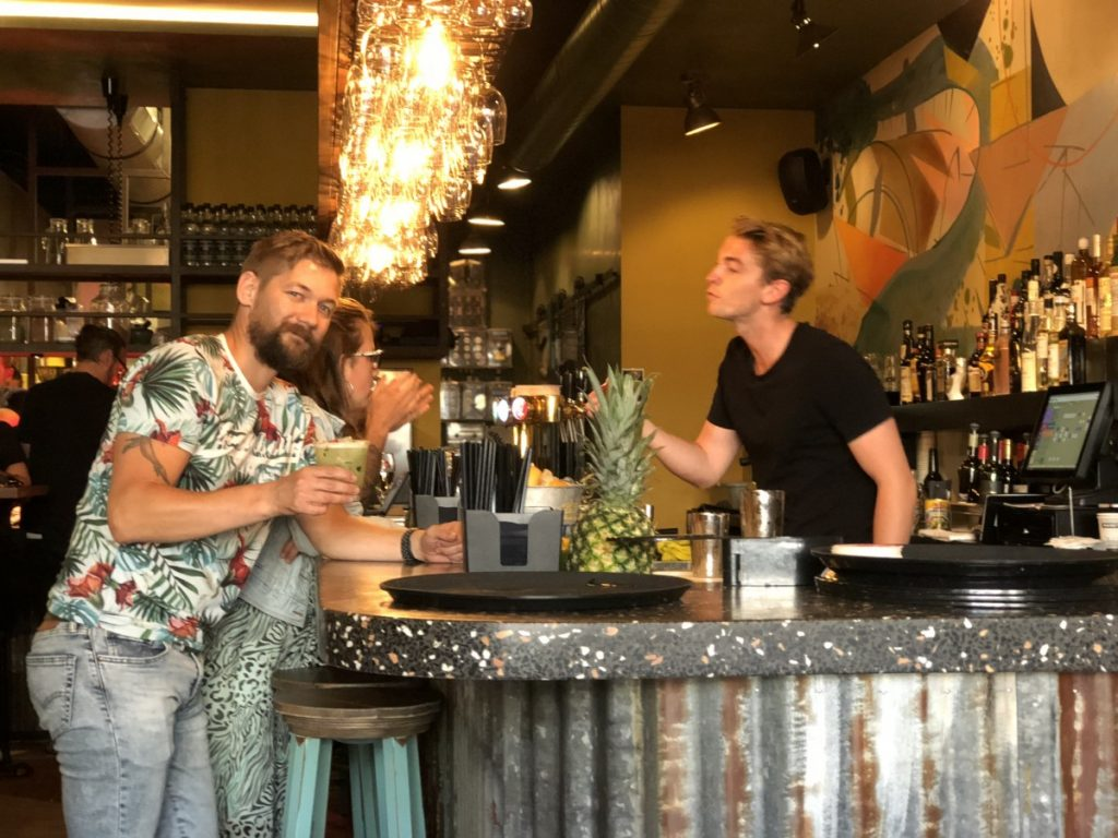 Bar restaurant Bardak in Amsterdam review