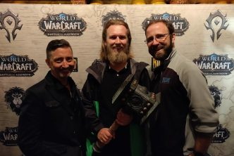 World of Warcraft battle for Azeroth release party