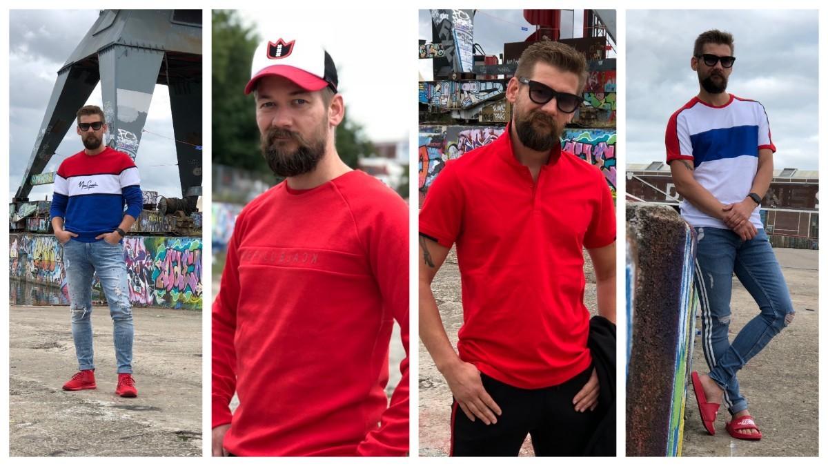 De Kleur Rood : Rood is de kleur voor het najaar fashion voor mannen b men