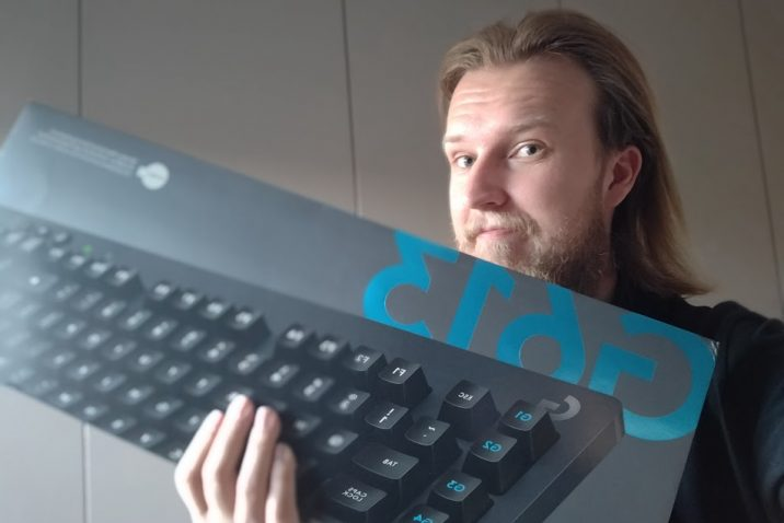 Nick Strijbos B4men.nl Logitech G613