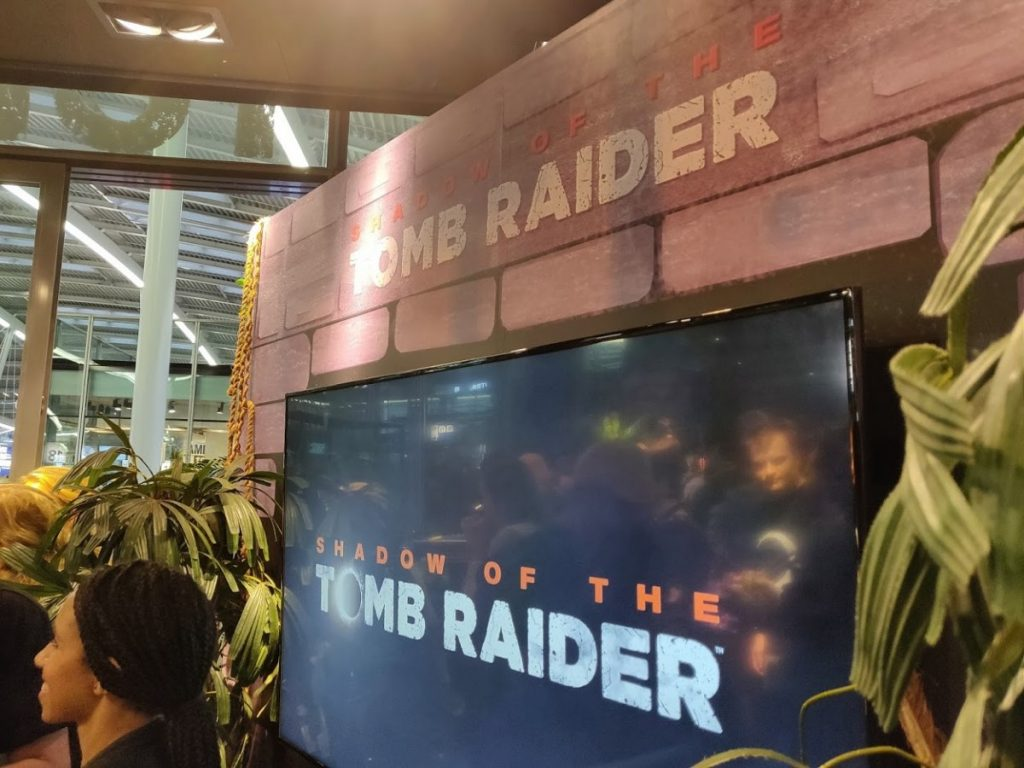 Shadow of the tomb raider pop up experience