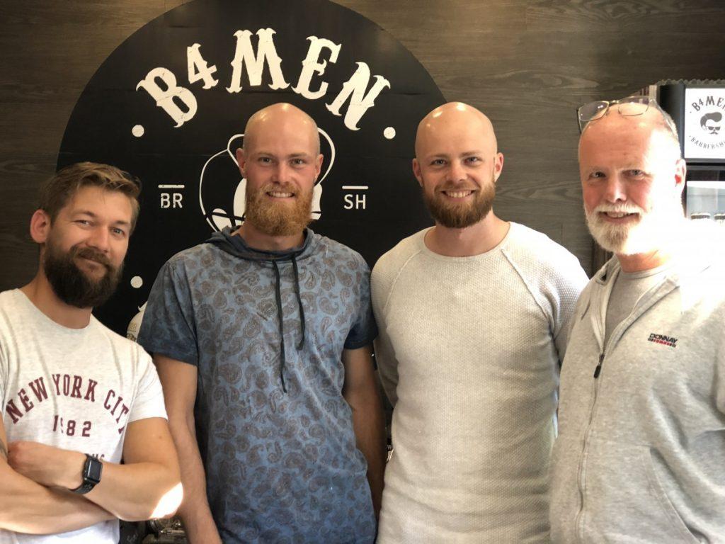 werken in de B4men Barbershop in Hoofddorp