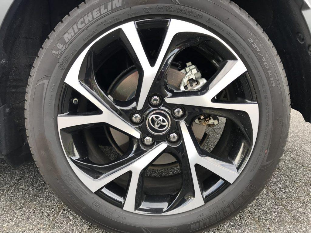 "Toyota C-HR Adventure 1.8 hybride 18"" spaakvelg"