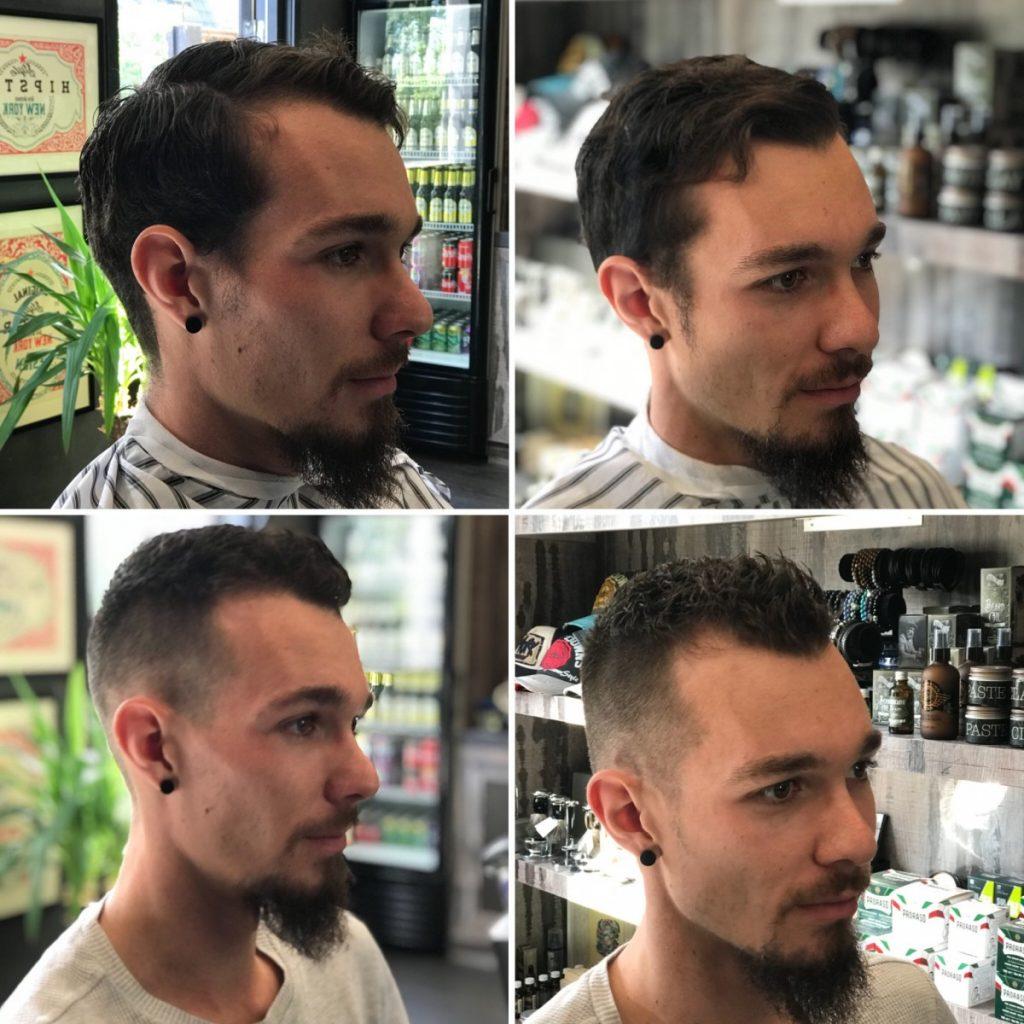 nieuwe kapsel mannen B4men Barbershop
