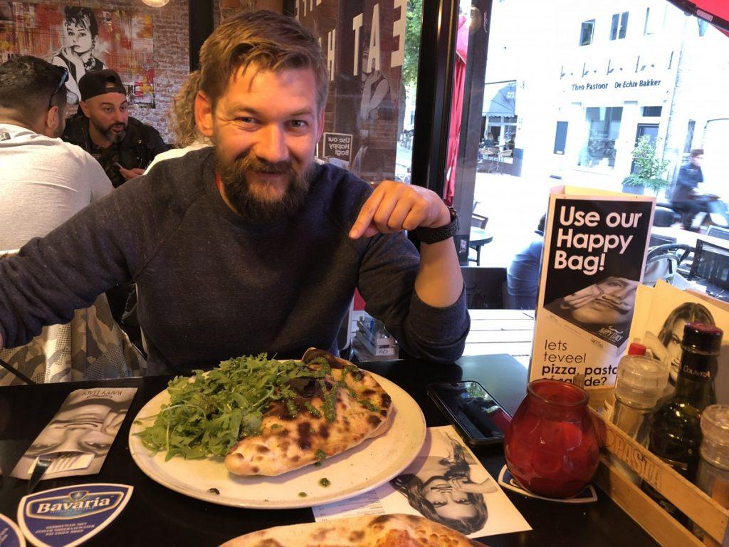 uit eten bij Happy Italy