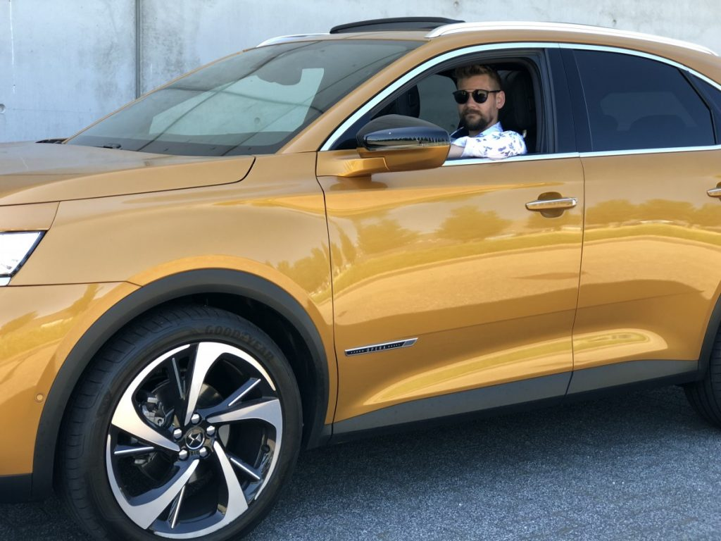 Jan Willem Huffmeijer in de DS 7 Crossback