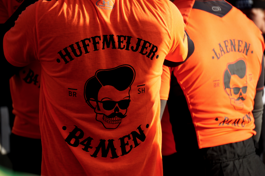Team B4men Shirt van Jan Willem Huffmeijer