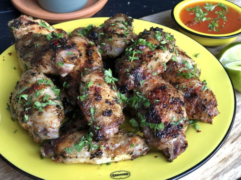 recept kippenvleugels met chimichurri
