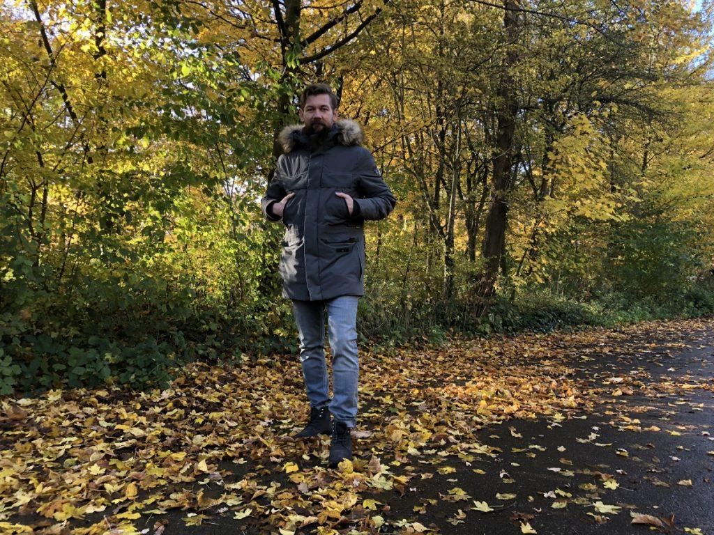 Jan willem in het bos
