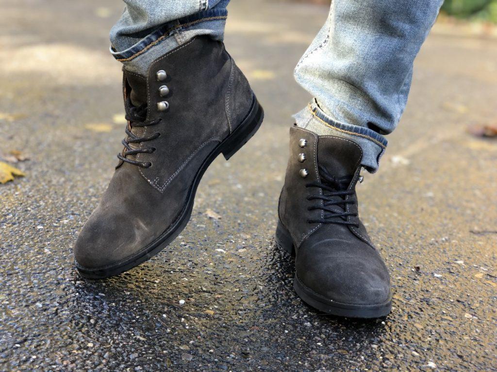 Grijze schoenen van Sacha schoenen