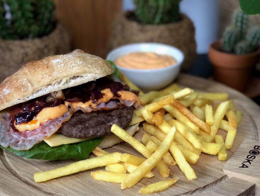 recept Old Dutch Burger van de McDonald's maken