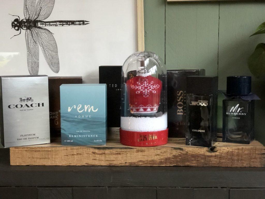 Een mooie collectie geuren voor mannen voor onder de kerstboom