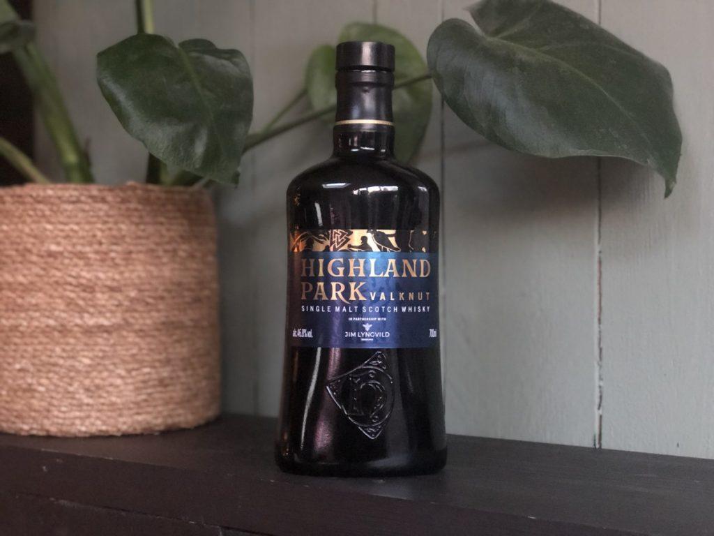 Fles van de Highland Park Valknut