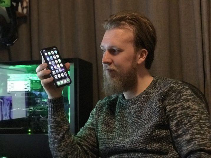 Nick Strijbos b4men iPhone XR review