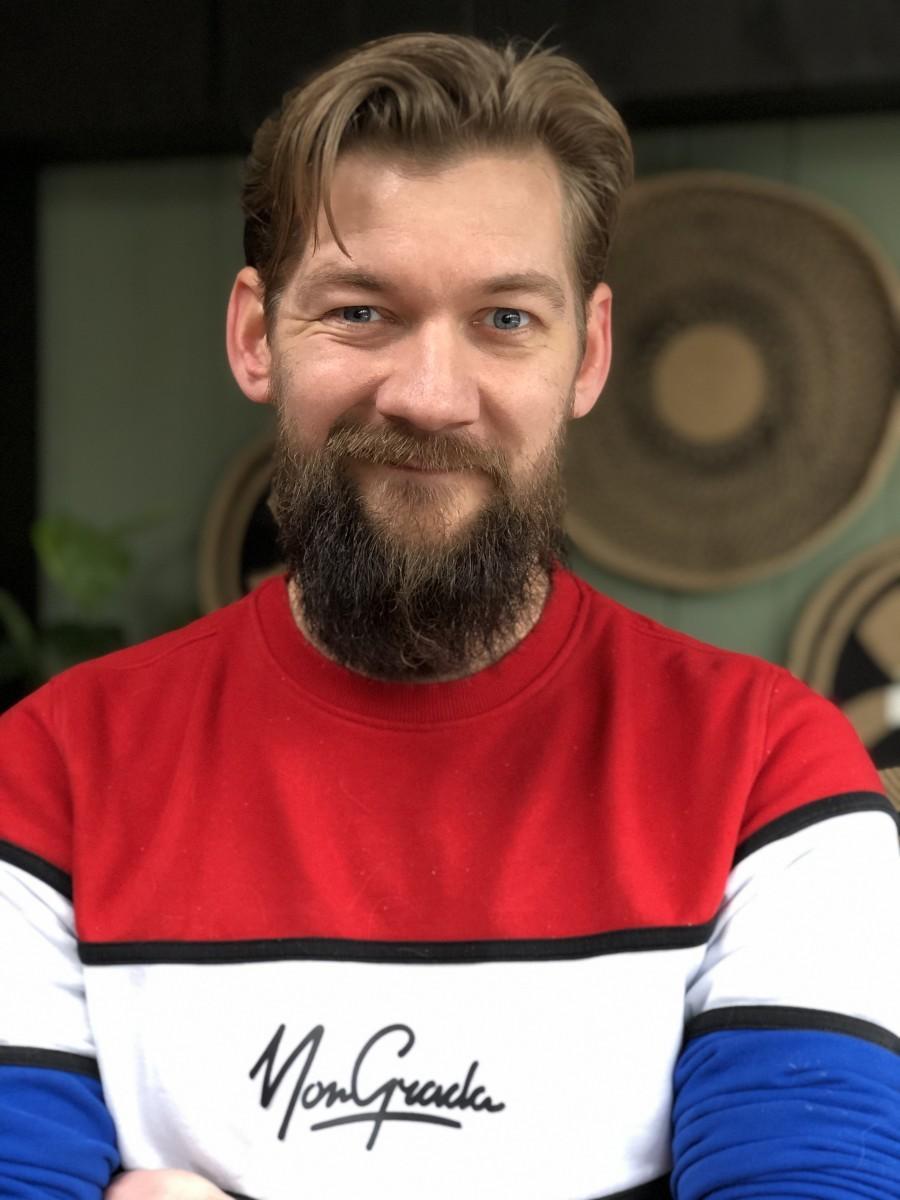 Jan Willem Huffmeijer vrolijk gezicht
