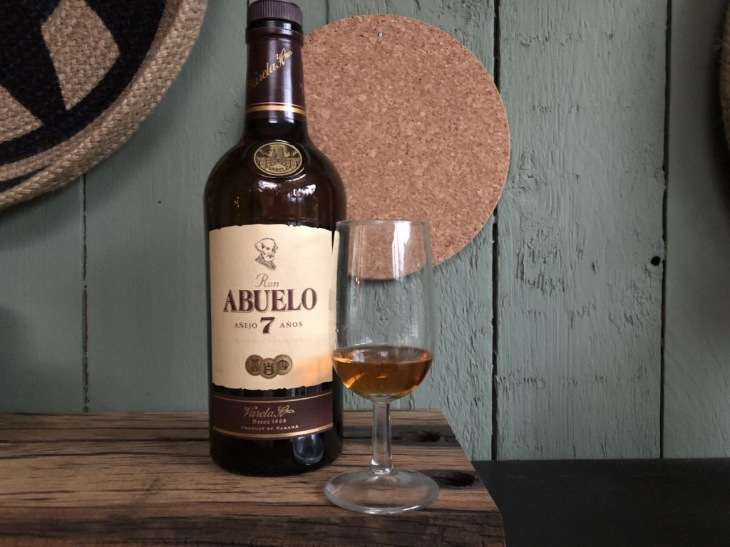 Abuelo rum 7 years old