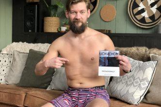 Jan Willem Huffmeijer in Boxer voor Directondergoed
