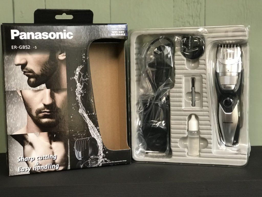 De Panasonic ER-GB52 Uit de verpakking