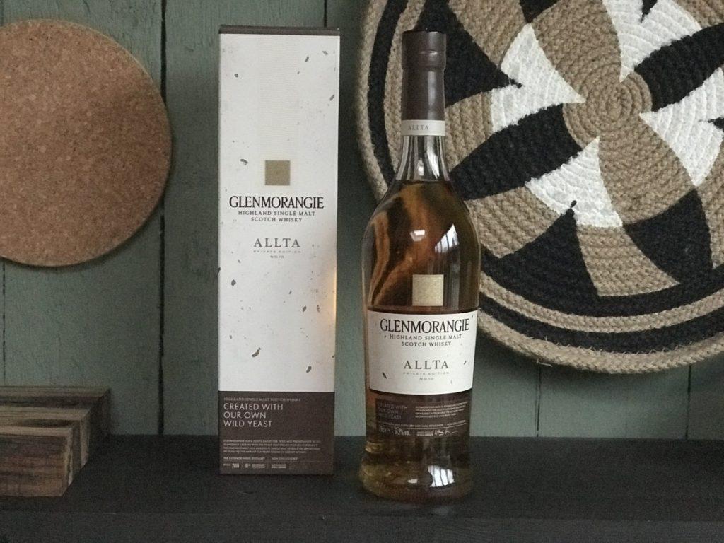 Fles van de Glenmorangie, zelf gefotografeerd