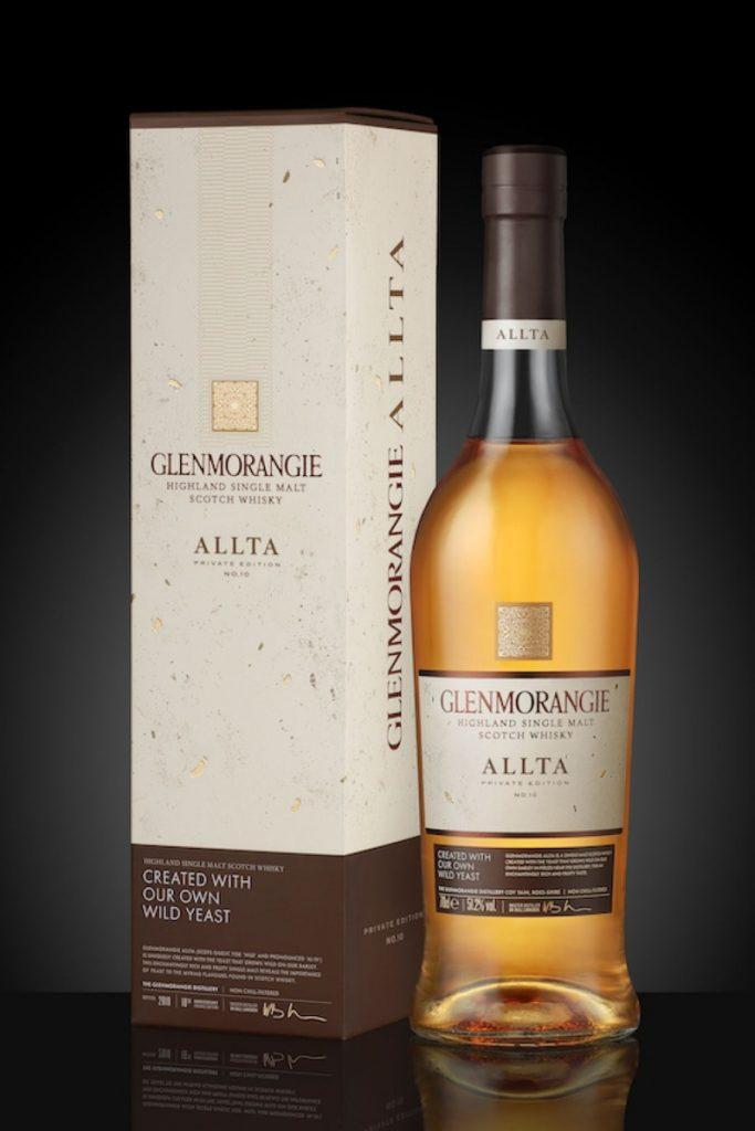 Fles van de Glenmorangie, door hen gefotografeerd