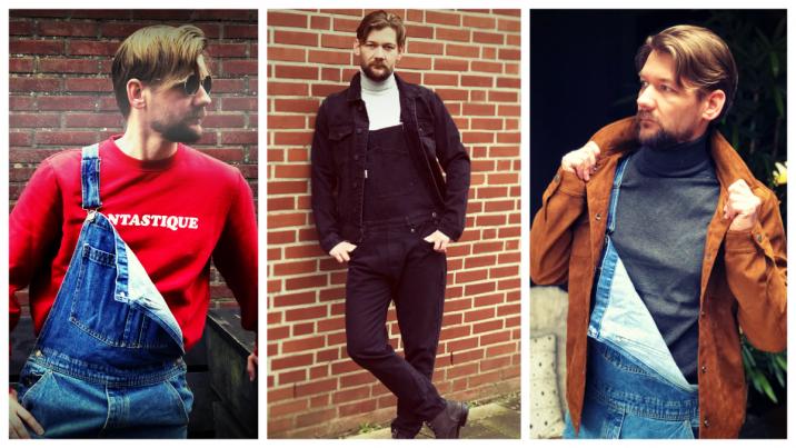 Drie manieren om je jumpsuit / overall / tuinbroek te dragen