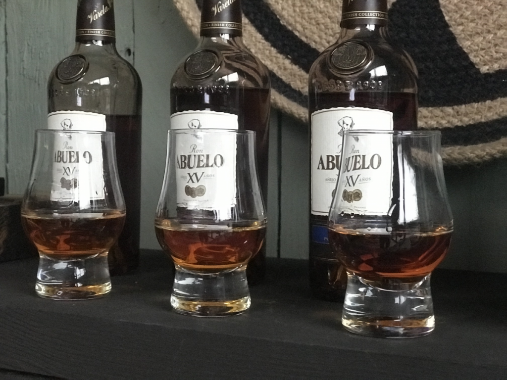 Ron Abuelo Finish Collection: 3 verschillende soorten rum