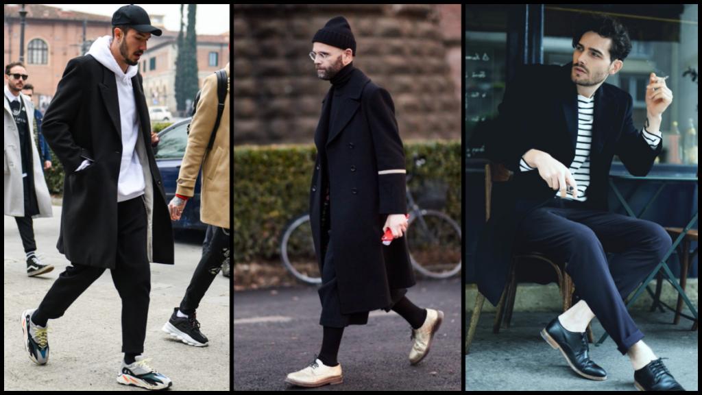 mannen kleding trends lente 2019 zwart wit contrast
