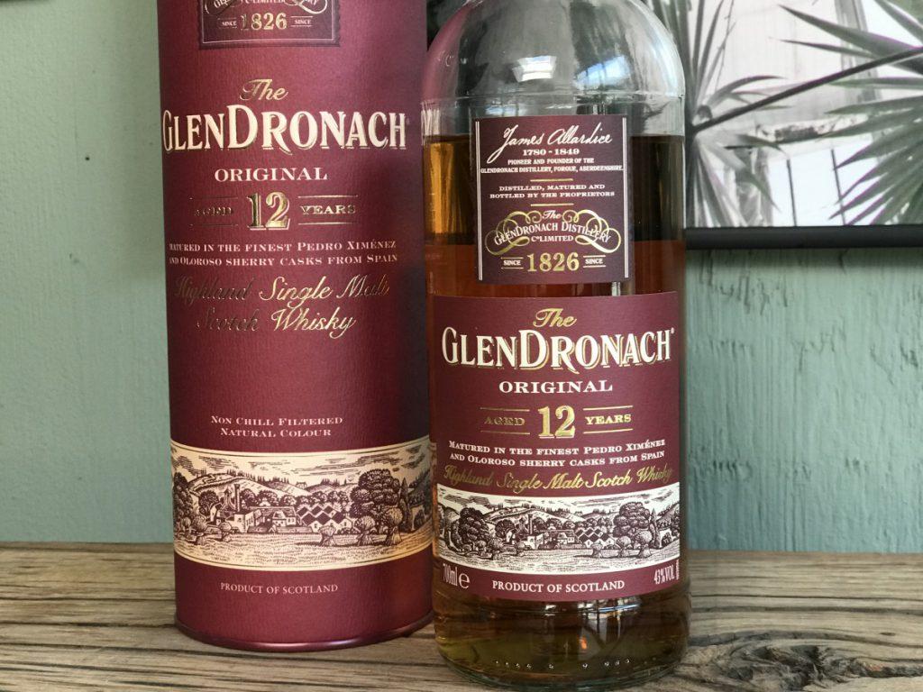Heerlijke whisky met veel sherry