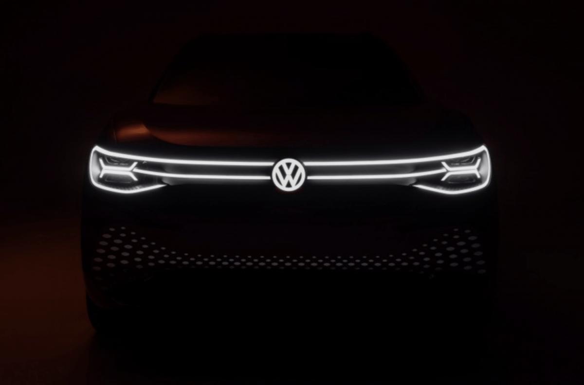 De grill van de Volkswagen ID.ROOMZZ