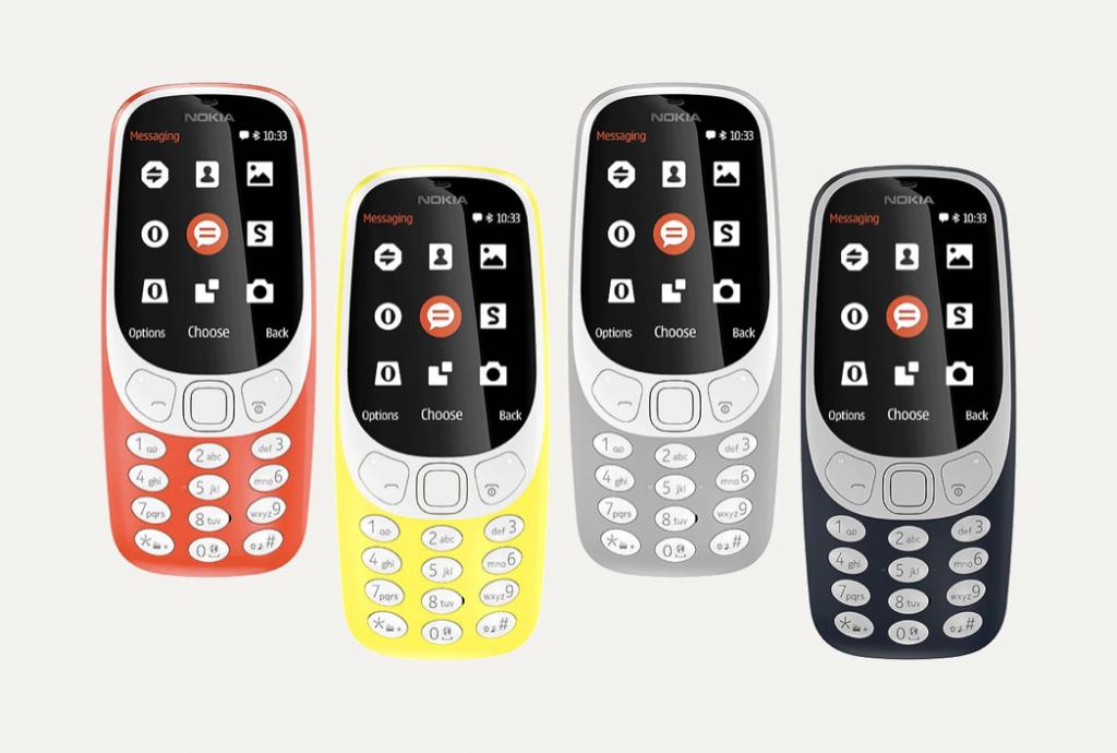 Nokia 3310 vernieuwd model