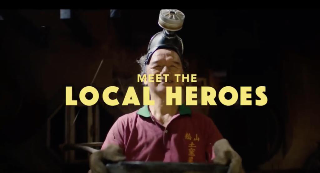Local Heroes uit de Netflix serie over eten van de hele wereld