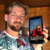 """Jan Willem Huffmeijer helemaal blij met zijn """"oude iPhone 7"""""""