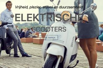 Elektrische scooters van blitss